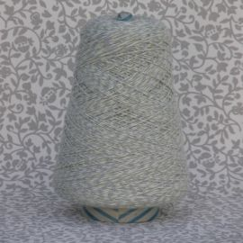 Mouline Yarn -  Grey, White, Yellow (Tricolor)