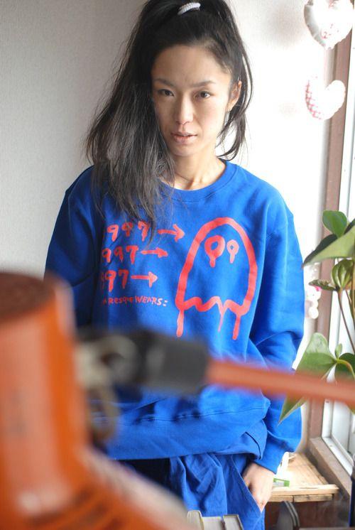1997→クルーネックトレーナー PxSxLスペシャル青