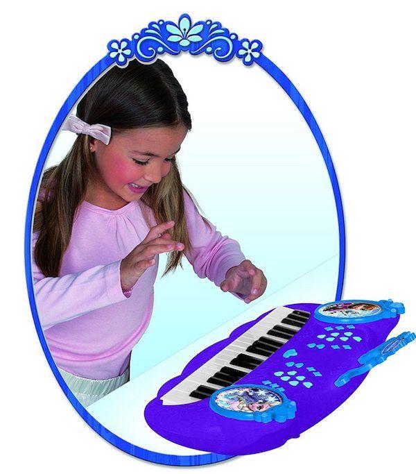 Foto Frozen Teclado electrónico. Características psicopedagogicas: Habilidad manual, Imaginación y creatividad.