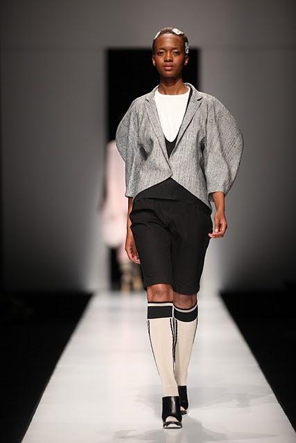 Tiaan Nagel - South African Fashion Week A/W 2012