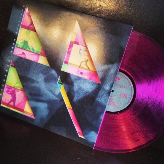 Hot pink Born Ruffians vinyl!
