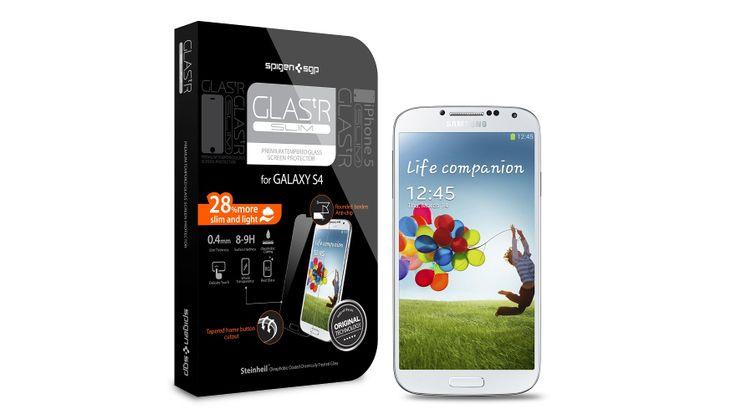 Spigen Steinheil GLAS.tR SLIM - Γυάλινο screen protector για το Samsung Galaxy S4