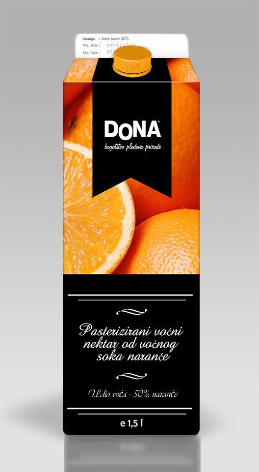 Tetra Pak Juice Design by Ivona Cindric, via Behance