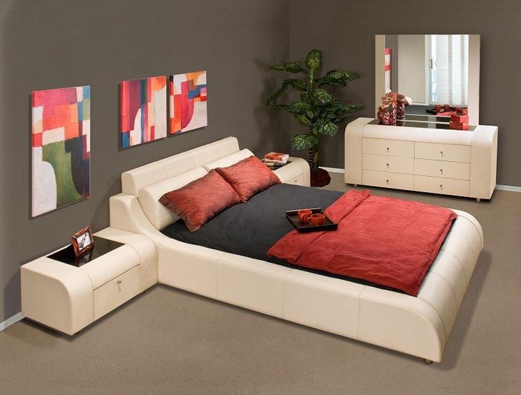 Contemporary 5 Piece Leather Bedroom Set w Optional Bed Sizes   Prima   Buy  Bedroom   Modern Bedroom SetsStylish BedroomBedroom Furniture OnlinePlatform. Best 25  Buy bedroom set ideas on Pinterest   Repainting bedroom
