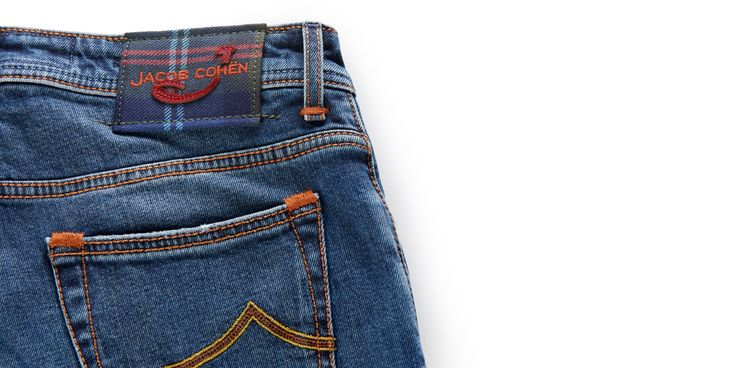 Jeans '688 Comfort' blau