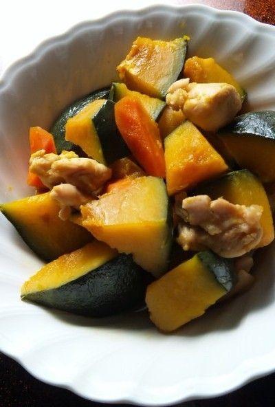 鶏肉とかぼちゃの煮物☆ 糖尿&減塩食 by レイさん | レシピブログ ...