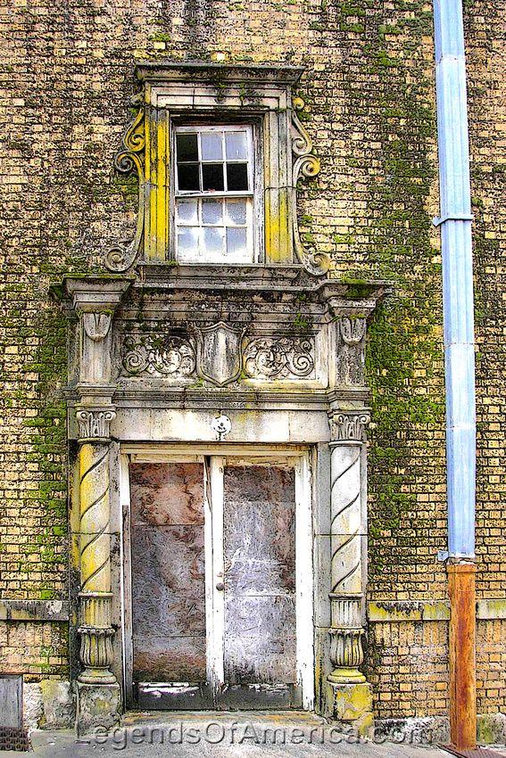Mineral, Wells, TX - Baker Hotel Door