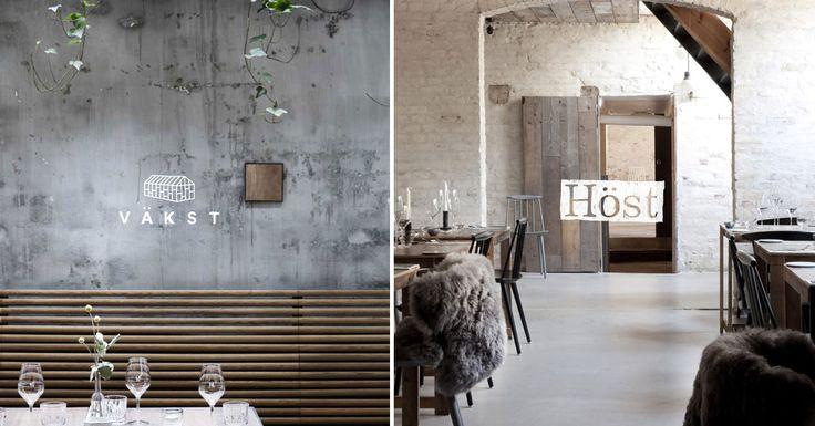 Väkst er en nordisk restaurant i Københavns Latinerkvarter. Restaurantens hjerte er et stort drivhus, der er bygget op igennem rummets to etager og tager gæsten med ind i en frodig haveoplevelse – midt i byen | Med sine pudsede murstensvægge og træelementer forener Höst den enkle og rustikke indretning med stram arkitektur og landlig hygge. Restaurant Höst har vundet tre internationale designpriser. >         <meta property=