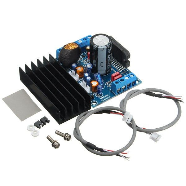 Dc 12v A Type 4*50w Tda7850 Car Audio Power Module Amplifier Board. Desription:  TDA7850 is a high-quality Hi-Fi car audio amplifier IC, using a single power supply 12V - 14.4V supply, MOSFET amplifier output, 4 x 50W HiFi amplifier, low distortion, low noise, anti-interference ability, with output short circuit and temperature protection in particular aspects of performance particularly prominent power, low power consumption, stable, sound quality is excellent. For car audio upgrade and DIY…