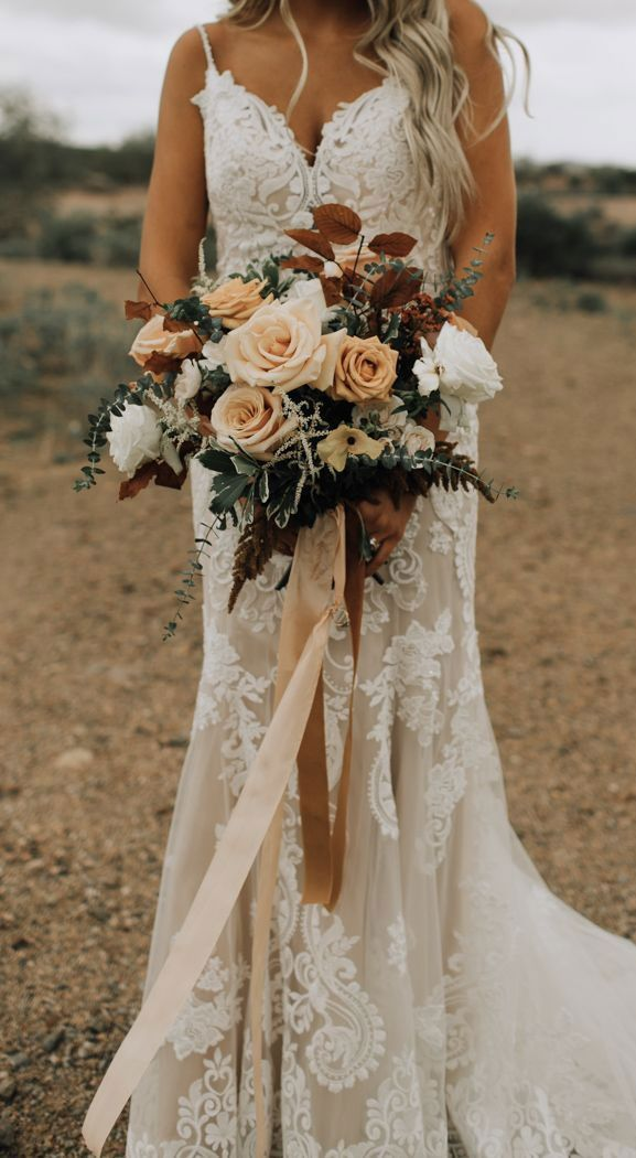11 Fall Wedding Bouquets 3 Beautiful Fall Color Palettes