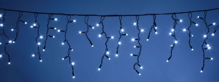 Solar LED Icicle String Lights 200, 300LED, Garden Party Wedding Christmas