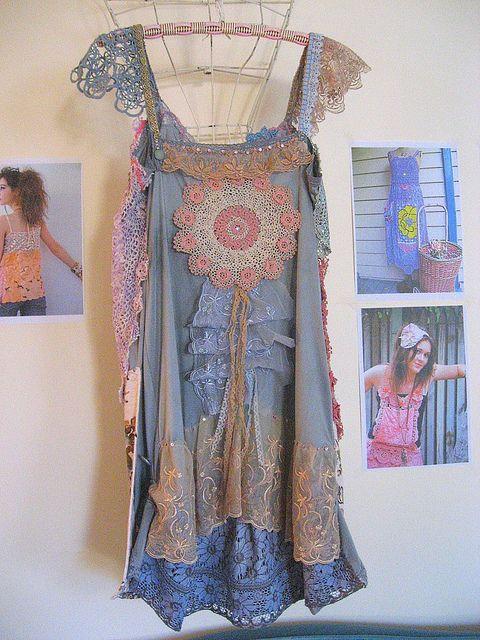 The Ruffled Rose dress by AllThingsPretty, via Flickr