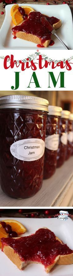 I love the sweetness of the jam from the strawberries, but then it's slightly tart from the cranberries. The cranberry flavor if very subtle in the jam. Perfect gift to give this holiday season!