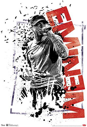 Eminem Crumble Music Poster 13 x 19in...