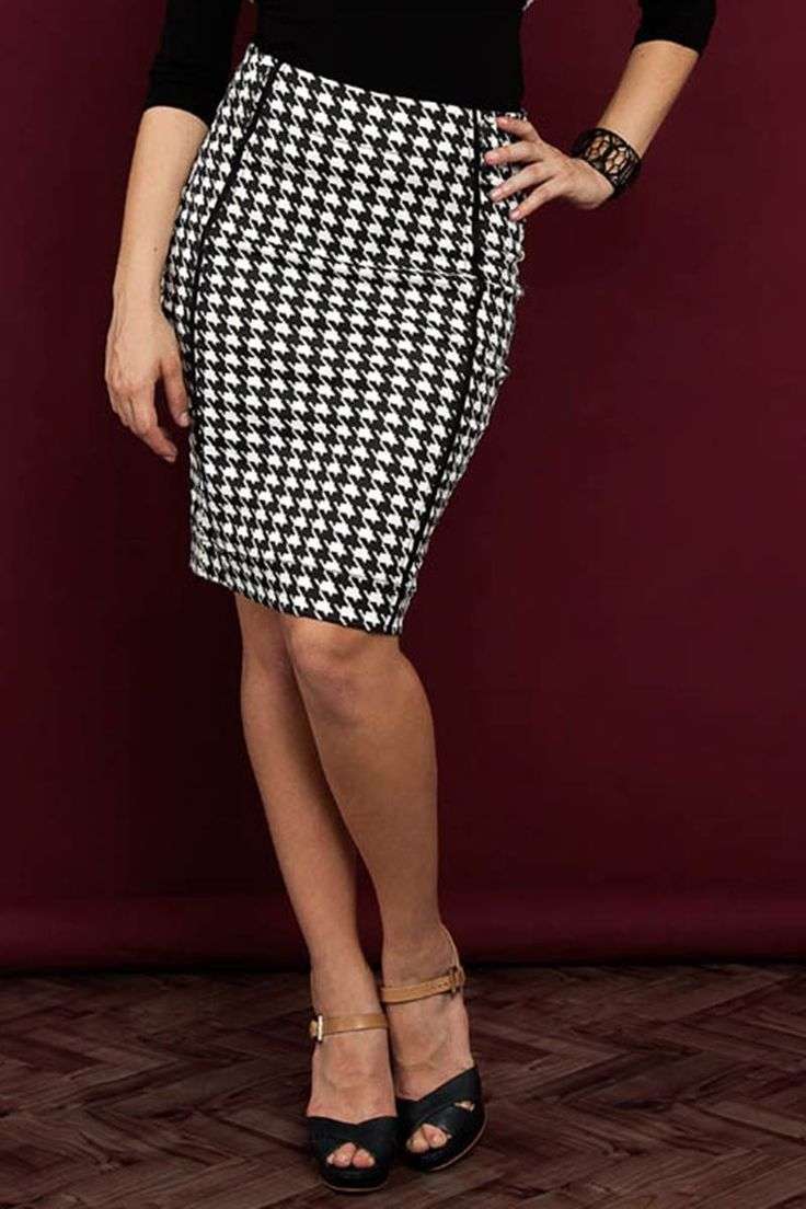 Saia Raje Outono Xadrez 12575 é na Saia Bella, Compre Moda Evangélica Online!
