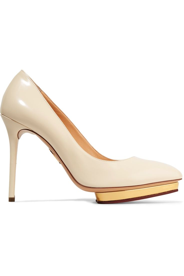 cb25841e03d CHARLOTTE OLYMPIA Debbie Leather Platform Pumps.  charlotteolympia  shoes   pumps