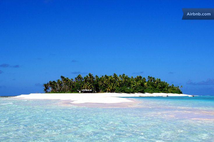 airbnb - hire an island