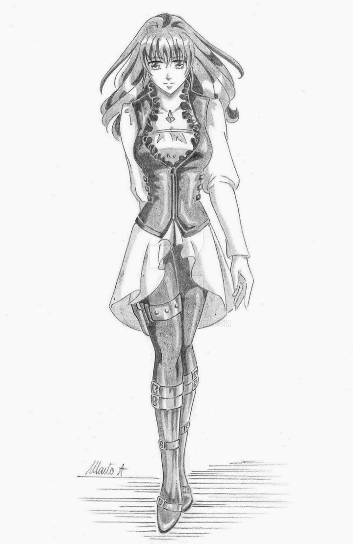 Ania (Neo Angelique Abyss OC) - Purifier's outfit by Reika77.deviantart.com on @DeviantArt #neoangelique #angelique #fanart #drawing #girl #anime
