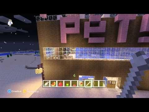 Minecraft School : ZOO ANIMALS LEGO BUILDING CHALLENGE! - YouTube
