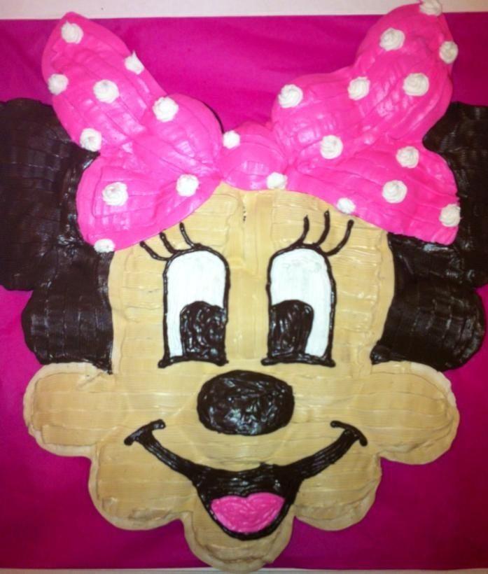 Minnie Mouse cupcake cake :)