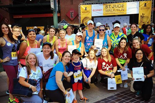 Tri Delta is proud to be a Gold Level National Team for the 2016 St. Jude Walk/Run to End Childhood Cancer. Help National Team Tri Delta meet our $200,000 fundraising goal!