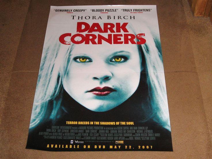Dark Corners Movie Poster 27x40 Used Thora Birch