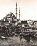 Siyah Beyaz, Sepia IST 043 / Anonim / Eminönü ve Yeni Cami, 1885