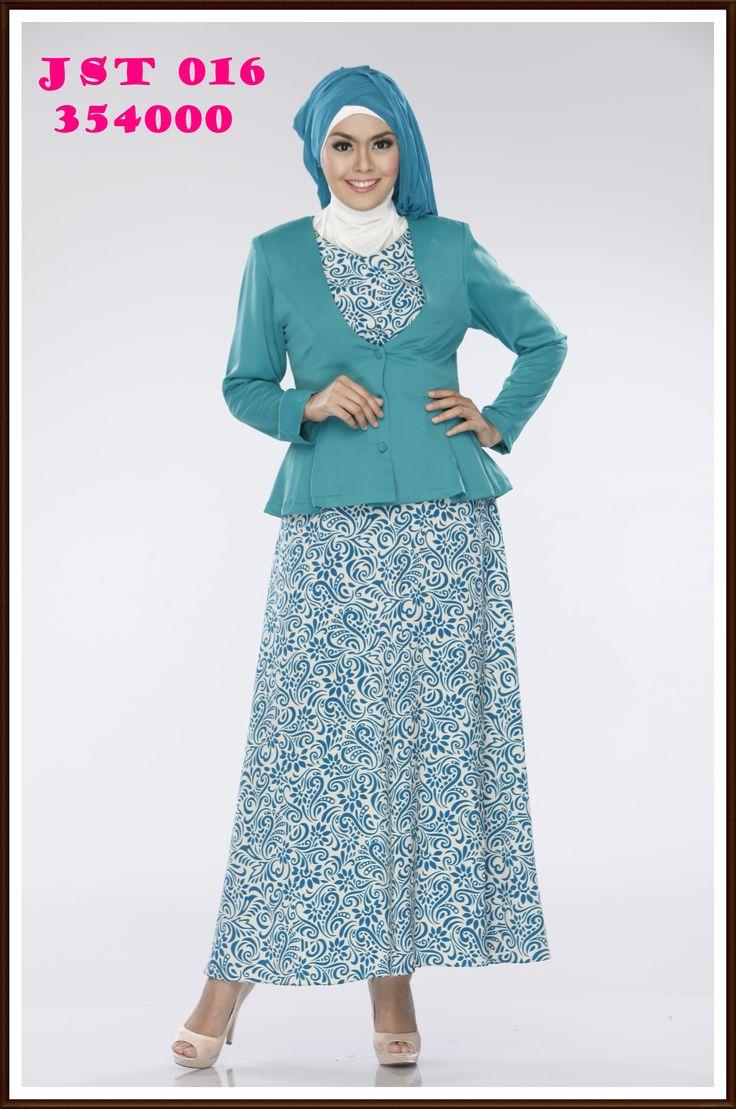 Dress jas cantik bermotif Exclusive dan elegan
