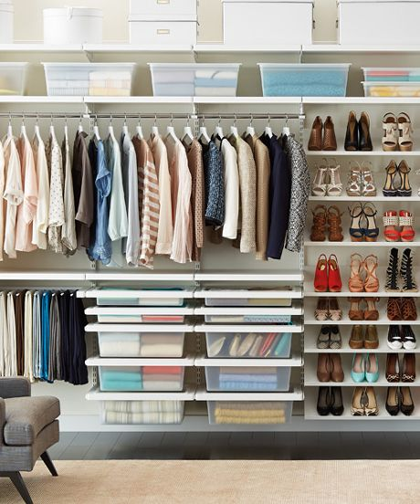 9 space saving tips for tiny nyc apartments closet - Space saving closet ideas ...