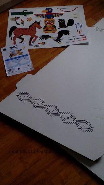 10 best Le tipi en carton coloré du0027Enzo ! images on Pinterest - fresh apprendre blueprint ark