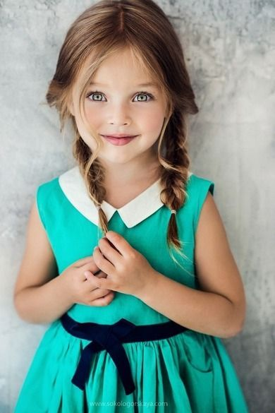 Cute little kid with style
