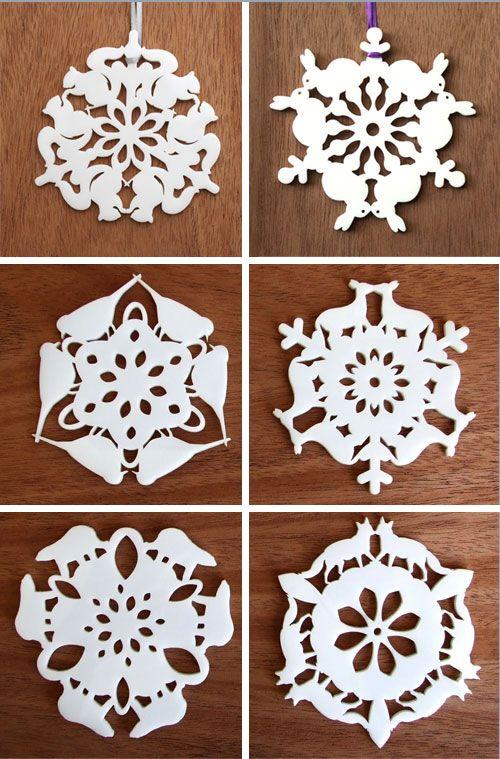 wonderful animal snowflakes.: Wonder Animal, Snowflakes Each, Animal Shapes, 2011 Upstate, Wonder Snowflakes, Incredibles Animal, Birds Snowflakes, Animal Cutout, Animal Snowflakes