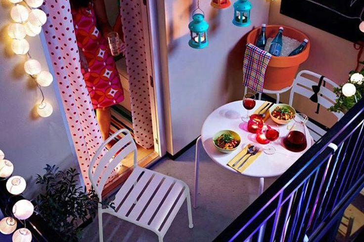 Solución 344: consejos para aprovechar un balcón pequeño - ESPACIO LIVING