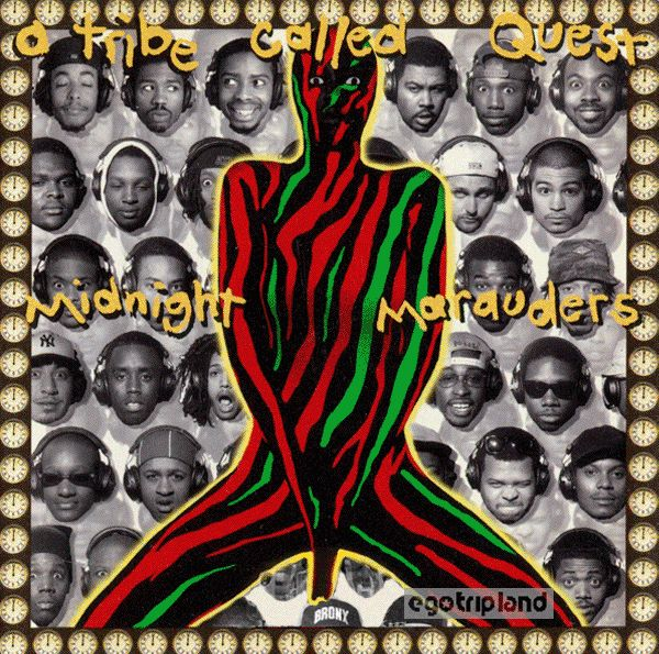 UNCOVERED: The Making of A Tribe Called Quest's Midnight Marauders Album Cover (1993) with Art Director Nick Gamma.