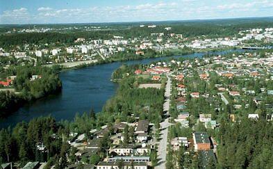 Ein Blick über die Partnerstadt Kuusankoski Quelle/Autor: Dezernat I - Repräsentation, Zentrale Verwaltungssteuerung, Wirtschaftsförderung