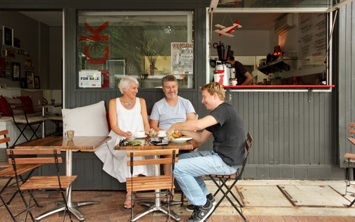 Noosa Junction cafe  www.noosaviplimousines.com airport transfers to your accommodation, wedding, restaurant