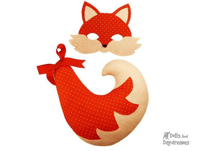 Как сделать костюм лисы своими руками