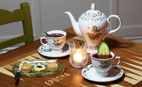Cure the Winter blues with gin, backgammon & antique silverware at Epocha in Carlton.