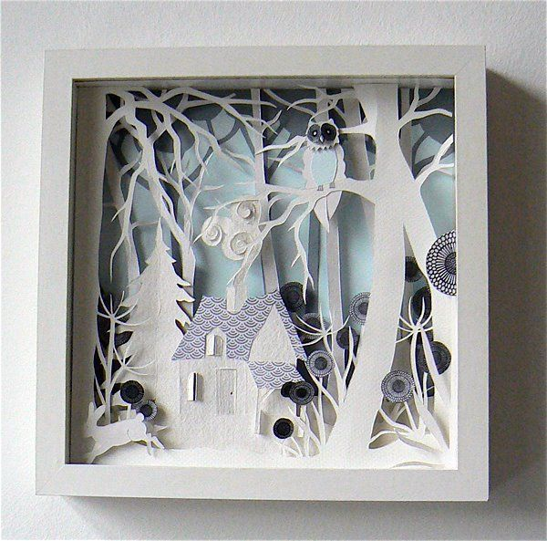 OH WOW: Helen Musselwhite - paper genius  Visit her site for more: http://www.helenmusselwhite.com/