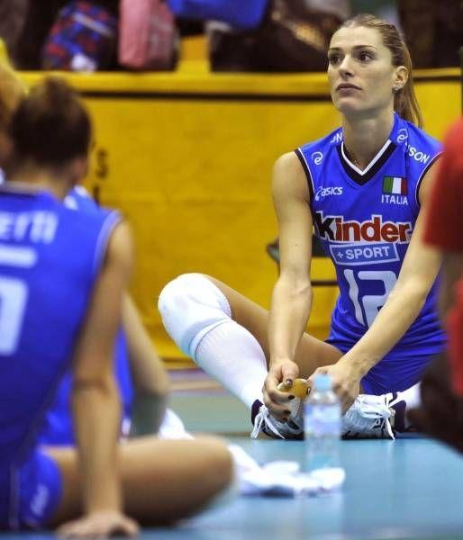 女子バレーボール、イタリア代表のフランチェスカ・ピッチニーニは、その美貌に注目が集まりそう。リオデジャネイロオリンピック・リオ五輪2016