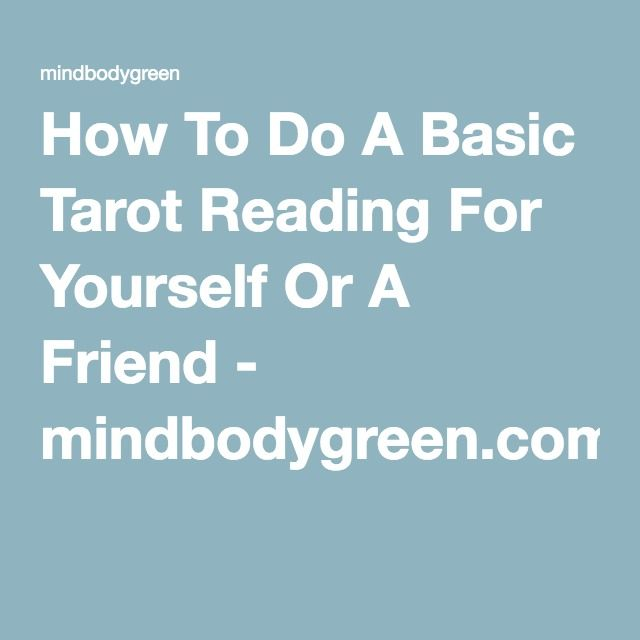 how to do a 3 card tarot reading