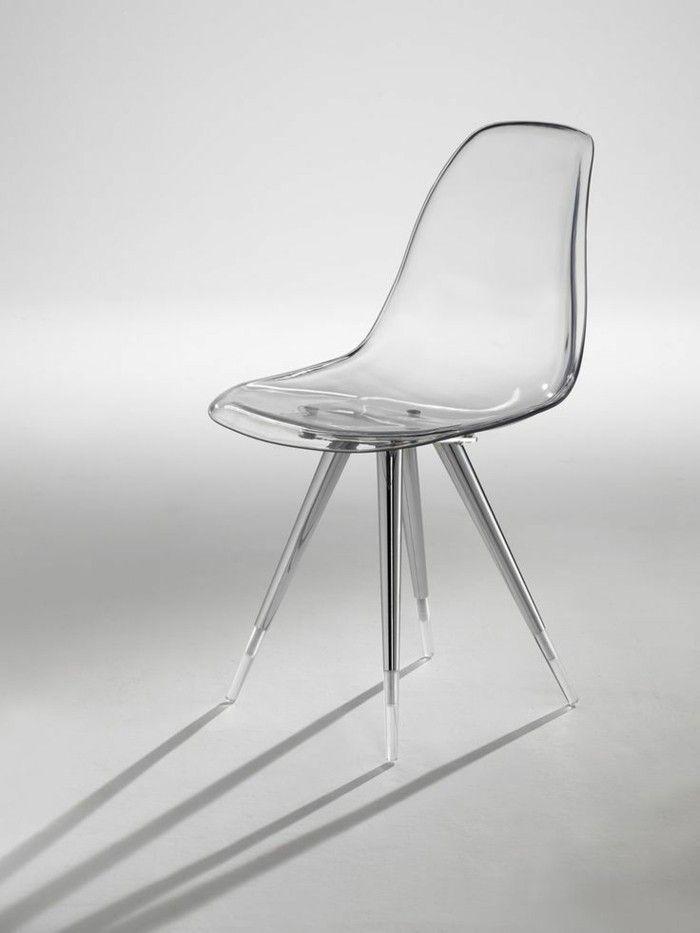 M s de 1000 ideas sobre chaise transparente en pinterest chaise sillones y - Chaise ikea transparente ...