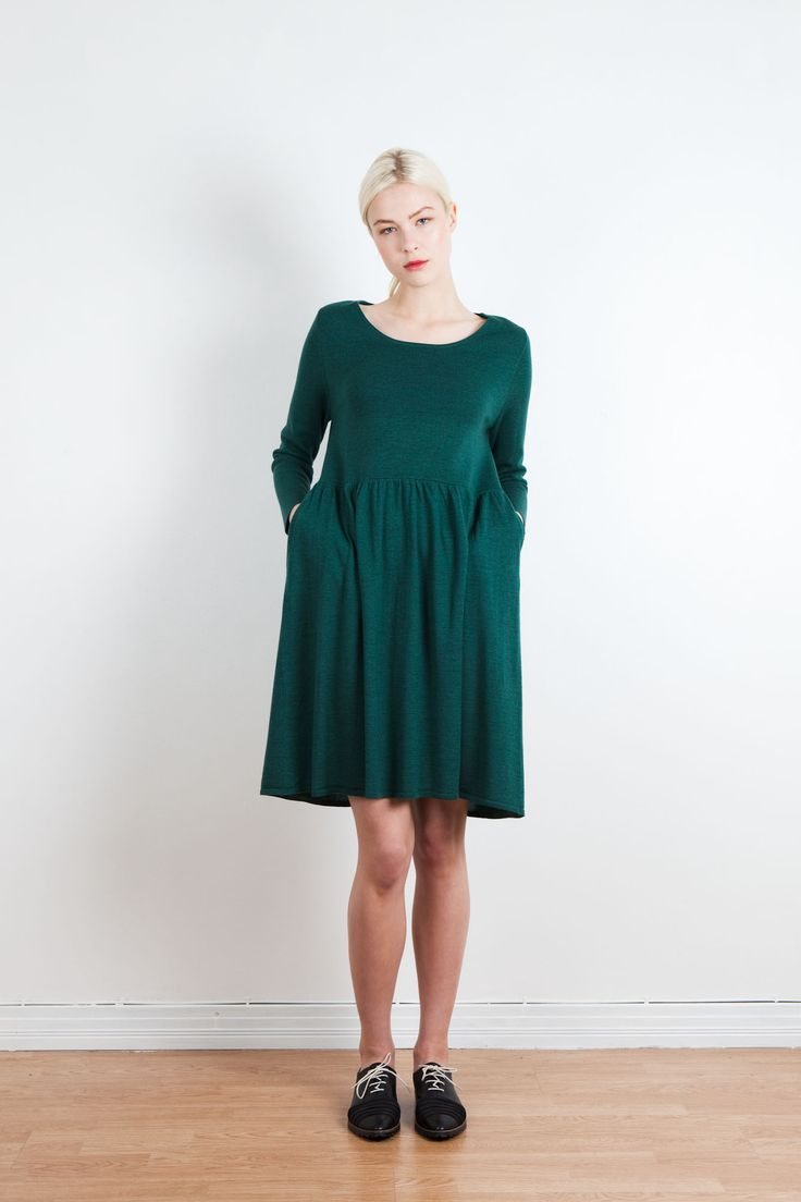 Tiera merino dress | Arela