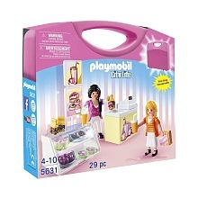Luxury Playmobil Food Shop Carrying Case