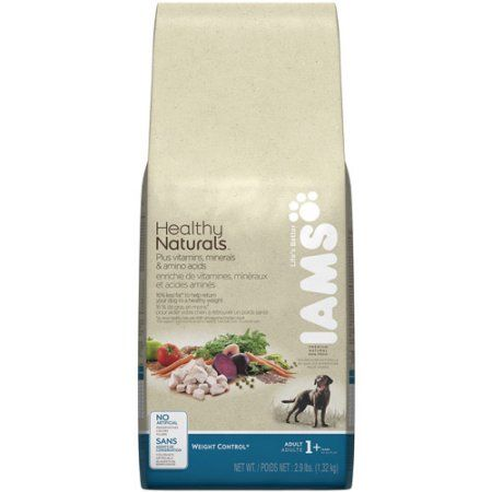 Iams Healthy Naturals Weight Control Dog Food, 2.9 lb