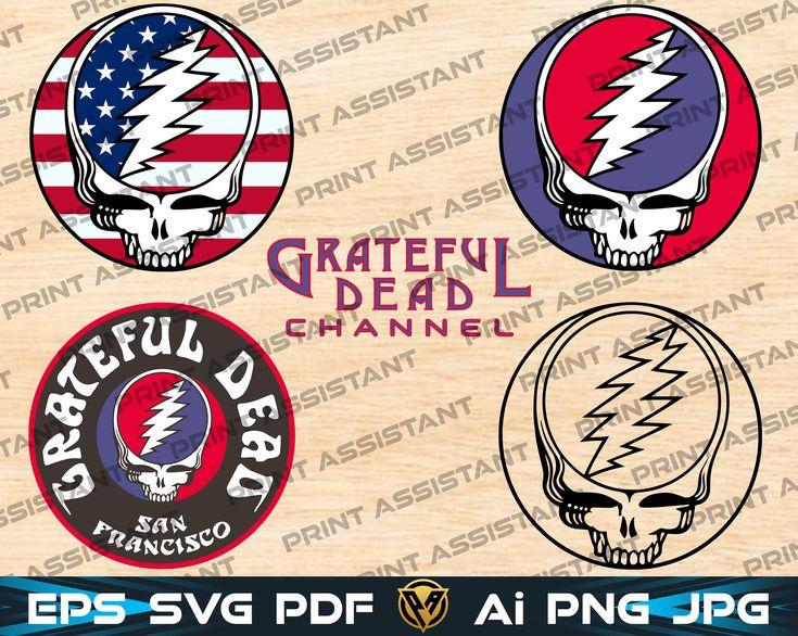 5 Svg Grateful Dead Logo Svg Stealie Channel Svg Cricut
