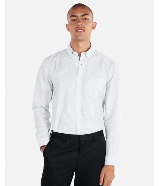 5dab71bc An Essential In A Sharp-Dressed Man's Wardrobe Thanks To A Classic Print, A  Crisp Button-Down Collar And A Tailored Fit. Pair With Dress Pants For A  Formal ...