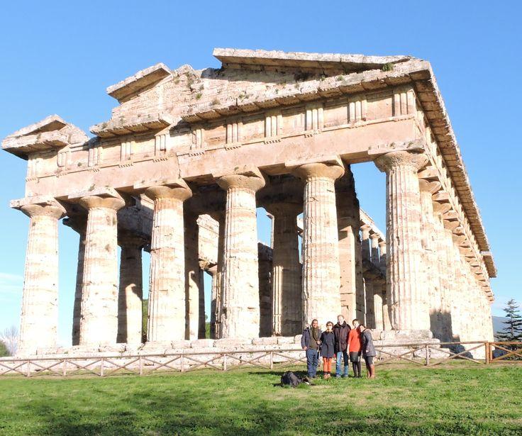 Our #Epiphany.... Excursion to #paestum site.... #accademiaitaliana #temple #architecture #Greek #art #italy