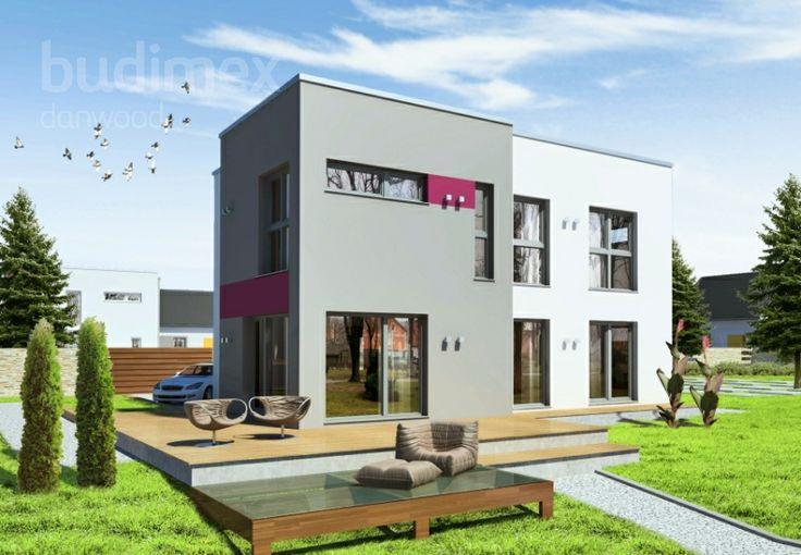 Zweigeschossige Häuser Danwood Park 151 CUBE || #hauser #house || http://www.danwood.de/hauser/zweigeschossige/park-151-cube