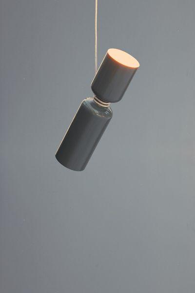 Spotlight Volumes pendant lights by Lukas Peet.